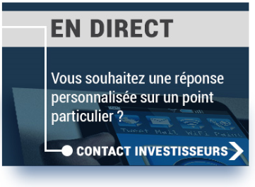 Contact investisseurs